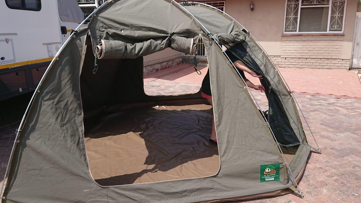 Nice open tent